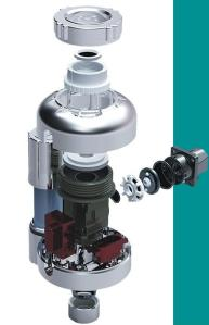 Self-Clean design to anti-blocking. The lifetime of solenoid valve is 800,000 times up